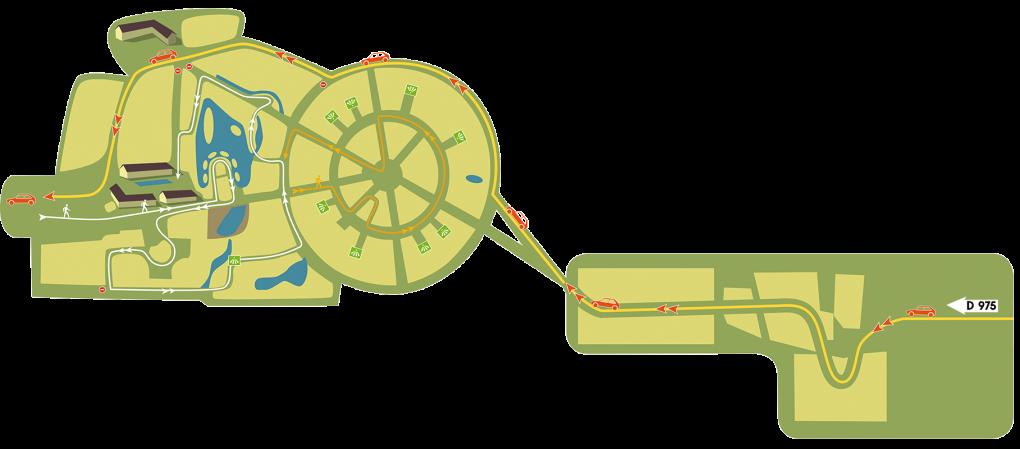 plan safari voiture